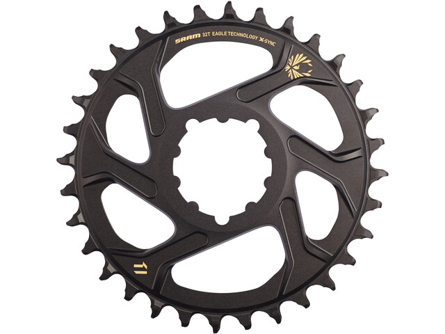 SRAM X-Sync 2 Kettingblad Directe Montage aluminium 12-speed 3mm, gold
